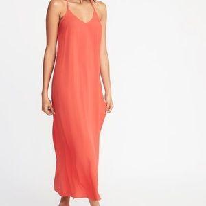Coral Maxi Dress